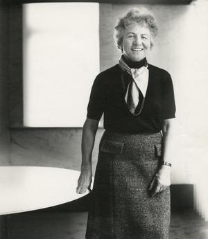 Herta-Maria Witzemann (1918 – 1999) (Foto: saai Südwestdeutsches Archiv für Architektur und Ingenieurbau, KIT Karlsruhe)