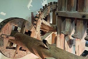 Die Mechanik der historischen Knochenpoche (Foto: SSG, Marie-Cristin Oswald)