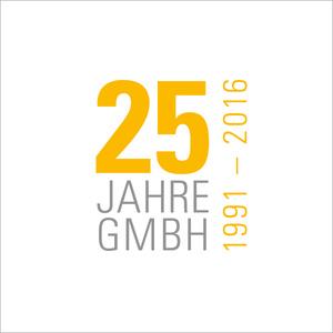 Jubiläumslogo 25 Jahre Staatsanzeiger GmbH