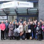 Foto Studierende der Hochschule Kehl zu Besuch
