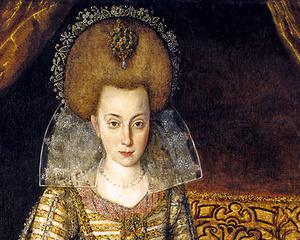 Porträt der englischen Prinzessin Elizabeth
