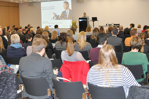 Vortragssituation vom letztjährigen Symposium