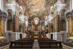 Die Rastatter Schlosskirche zum Heiligen Kreuz (Foto: Vermögen und Bau B. W. Amt Pforzheim, Dirk Altenkirch)