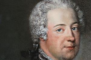 Friedrich II. von Preußen, um 1736 gemalt von Antoine Pesne (Foto: SSG, Silke Schick)