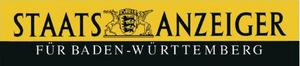 Staatsanzeiger für Baden-Württemberg