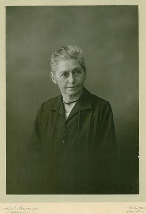 Porträtfotografie von Mathilde Planck (1861 bis 1955)