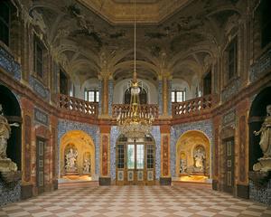 Rastatt-Förch: Schloss Favorite, Sala Terrena