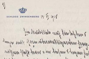 Großherzogin Luise von Baden schrieb Tagebuch (Foto: GLA Karlsruhe)