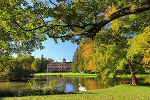 Schloss Favorite in Rastatt-Förch und der umgebende Landschaftsgarten (Foto: Staatsanzeiger, Klaus Hammer)