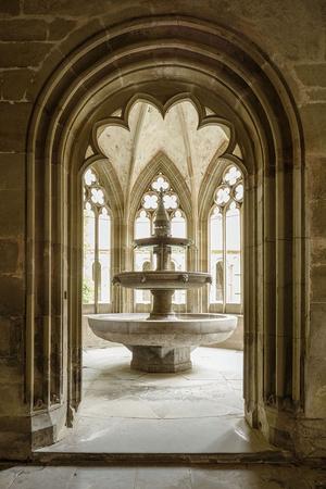 Im Brunnenhaus konnten sich die Maulbronner Mönche vor jeder Mahlzeit die Hände waschen (Foto: SSG, Dirk Altenkirch)