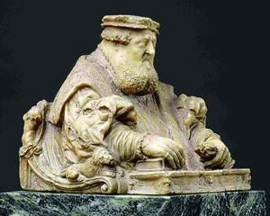 Alabasterbüste des Kurfürsten Ottheinrich von der Pfalz