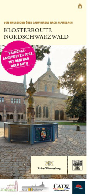 Titelbild Flyer Klosterroute Nordschwarzwald