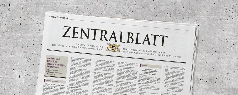 Zentralblatt