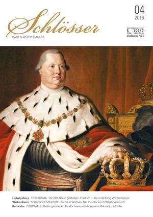 König Friedrich I., porträtiert von J. B. Seele