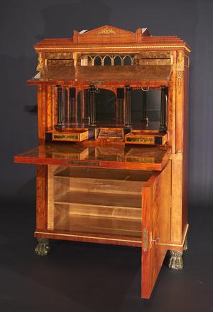 Kabinettschrank von Johannes Klinckerfuß aus Schloss Ludwigsburg