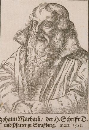 Johannes Marbach (1521–1581) (Foto: Wikipedia)