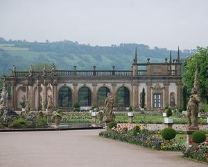 Die Orangerie im Schwetzinger Schlossgarten