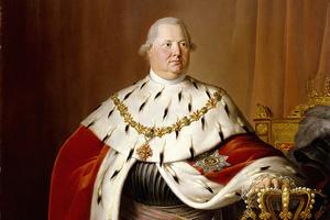 König Friedrich I. von Württemberg. Gemälde von Johann Baptist Seele (Foto: SSG)