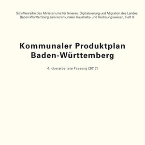 Titel Kommunaler Produktplan