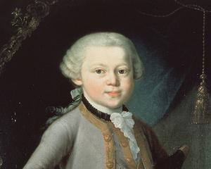 Gemälde Mozart als Siebenjähriger