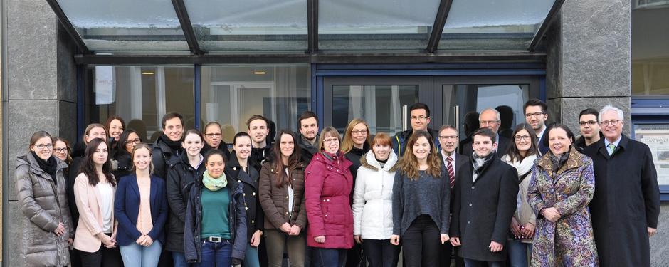 Foto von Studierenden aus Ludwigsburg