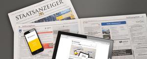 Stellenmarkt in Print, online und mobil