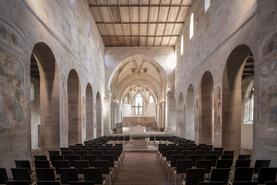 Blick ins Schiff der Kirche von Kloster Lorch
