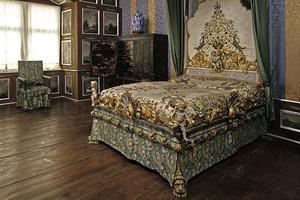 Prunkbett aus dem Schlafzimmer der Fürstin Elisabeth Friederike Sophie (Foto: SSG)