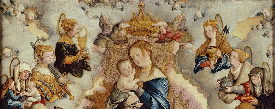 Die Mitteltafel des Wildensteiner Altars, 1536 (Foto: Staatsgalerie Stuttgart)