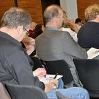 Teilnehmer einer Fortbildungsveranstaltung