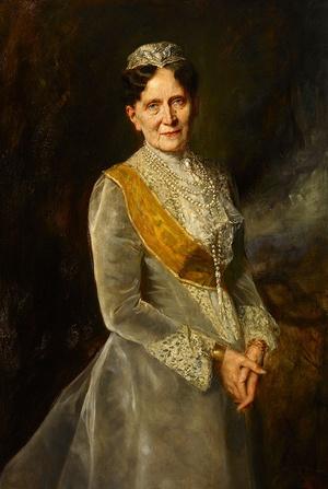 Porträt der badischen Großherzogin Luise