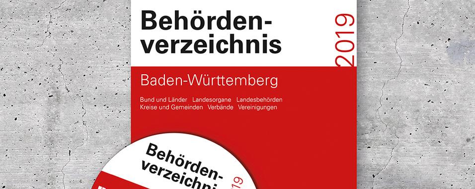 Titel Behördenverzeichnis Baden-Württemberg