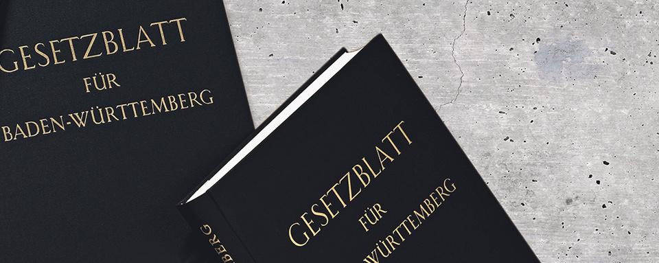 Gesetzblatt Baden-Württemberg