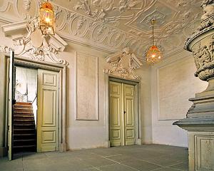 Schloss Ludwigsburg, Zugang zu den Garderoben im Alten Hauptbau