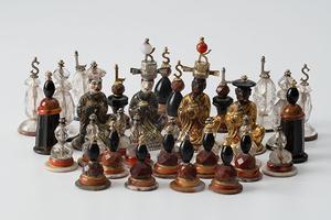 Mit diesen Schachfiguren spielte Herzog Carl Eugen von Württemberg (Foto: Landesmuseum Württemberg, Hendrik Zwietasch)