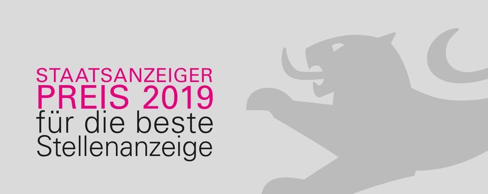 Logo STAATSANZEIGERPREIS 2019