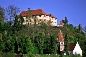 Schloss Neuenbürg thront hoch über dem gleichnamigen Ort (Foto: Schloss Neuenbürg, Günther Beck)