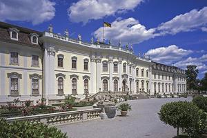 Schloss Ludwigsburg: Im Erdgeschoss des Neuen Hauptbaus wird an den Königswohnungen gearbeitet (Foto: SSG)