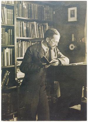 Der Heidelberger Geschichtsprofessor Karl Hampe um 1913. Das Kriegstagebuch, das der konservative Mediävist von 1914 bis 1919 führte, ist inzwischen ediert und eine interessante Quelle zur Sozial- und Alltagsgeschichte des Ersten Weltkriegs.