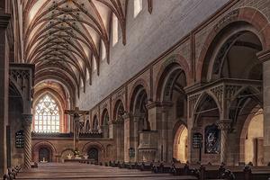 Das Langhaus der Maulbronner Klosterkirche (Foto: SSG, Zorsch)