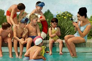 Film ist Alltag – jedenfalls in einer Werbebroschüre um 1961 von Bauer. Die Bosch-Tochterfirma stellte Filmkameras her. (Foto: Haus des Dokumentarfilms)