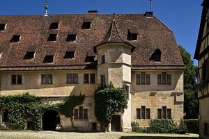 Schloss Bebenhausen: Herrenhaus mit Treppenturm (Foto: SSG)