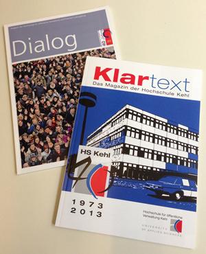 Titelbild Jubiläumsmagazin Hochschulen