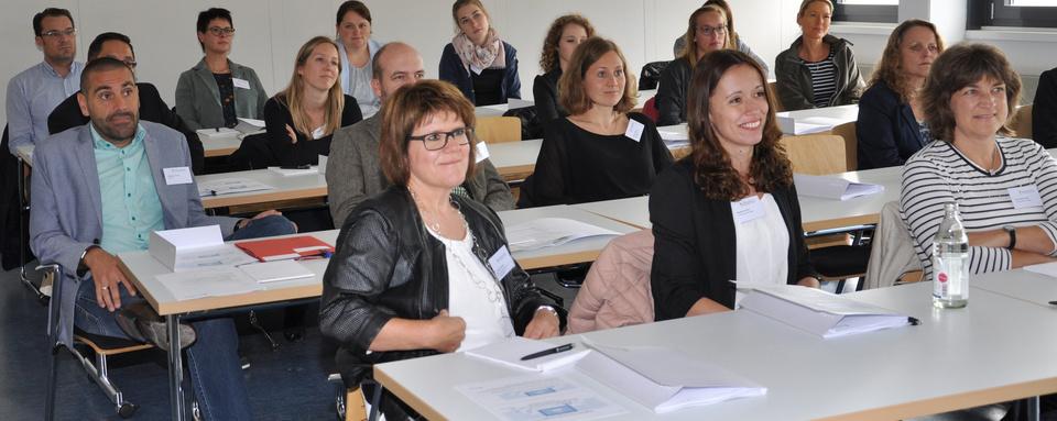 Teilnehmer/-innen beim Fachforum in Kehl 2019