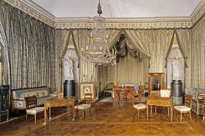 Schlafzimmer von König Friedrich I. von Württemberg in Schloss Ludwigsburg