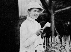 Dr. Margarete von Wrangell, Professorin für Pflanzenernährung 1923 – 1932 (Foto: Uniarchiv Universität Hohenheim)
