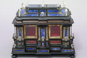 Barocker Reliquienschrein aus dem Rastatter Kirchenschatz (Foto: SSG, LMZ, Arnim Weischer)