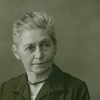 Porträt von Mathilde Planck