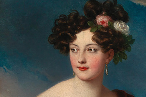 Die 18 Jahre alte Gräfin Claudine Rhédey von Kis Rhéde, gemalt vom österreichischen Maler Johann Nepomuk Ender (Foto: SSG)