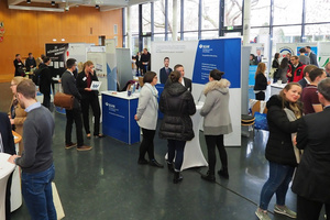 Blick auf die Personalmesse Speyer 2018